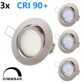LED Eclairage encastré Ultra Slim 5.5W Dimmable