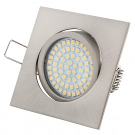 LED Eclairage encastré Ultra Slim Carré