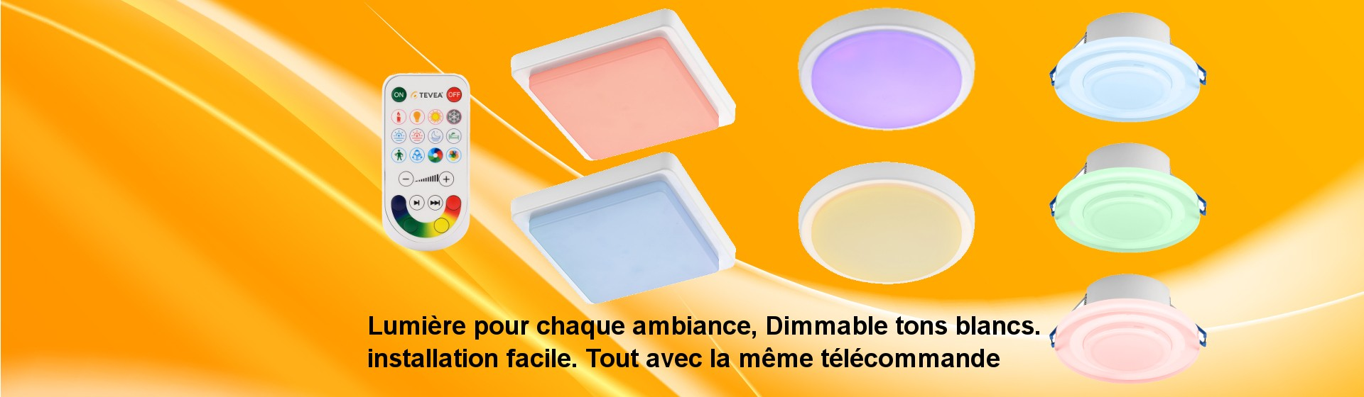 LED Eclairage Dimmable